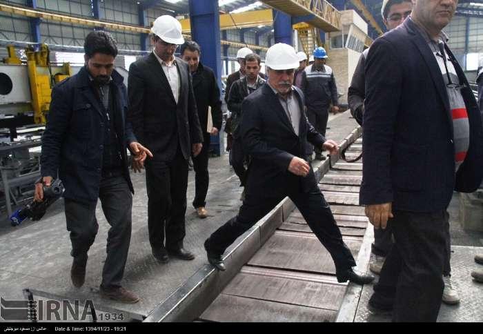 افتتاح واحد فولادی در اشکذر