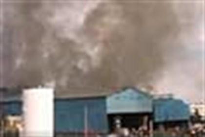 آلودگی یک واحد فولادی در یزد