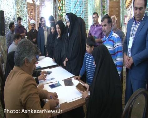 شور انتخابات در خضرآباد